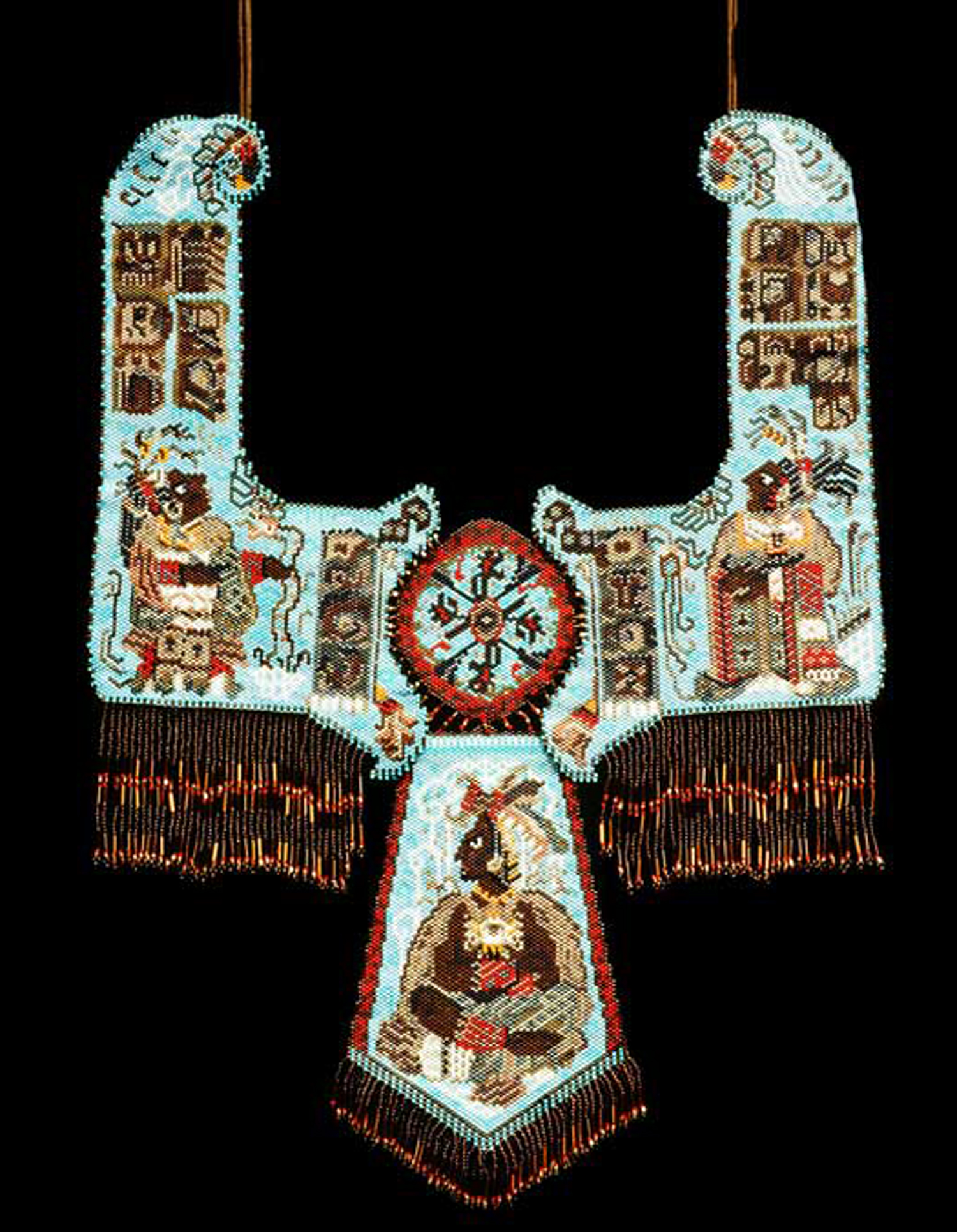 The maya, beadwork, inspiration from culture